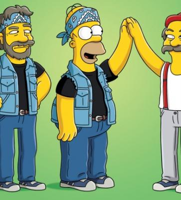 Cheech and Chong bei den Simpsons