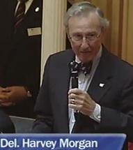 Foto von Harvey Morgan, Republikanischer Abgeordneter in Virginia, USA