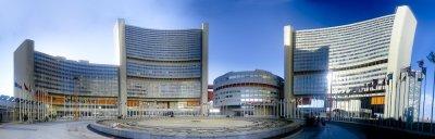 UN Gebäude in Wien