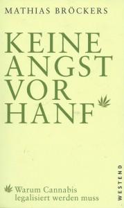 Buchcover Grafik: Mathias Bröckers - Keine Angst vor Hanf