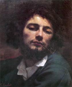 Courbet Autoportrait