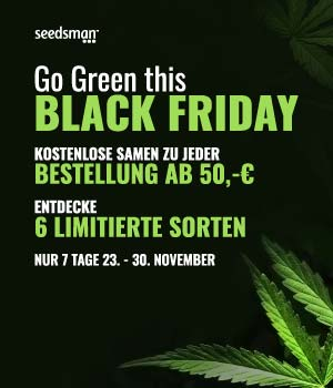 Seedsman Black Friday Aktion