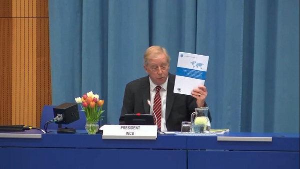 Cornelis P. de Joncheere, President of the International Narcotics Control Board